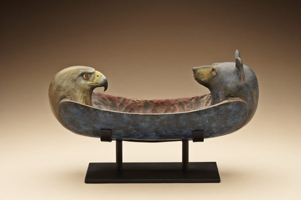 """Eagle Bear Spirit Canoe"""