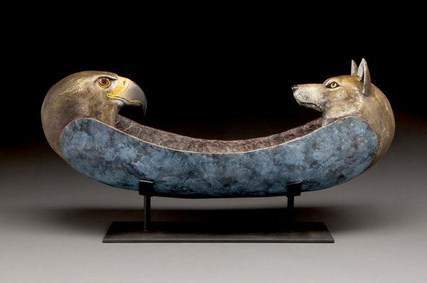"""""""Eagle Wolf Spirit Canoe"""""""
