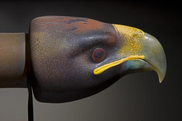 """Eagle Talking Stick"""