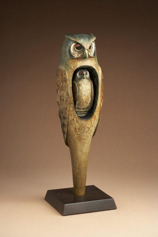 """Great Eagle Owl Spirit"" 1 of 15"