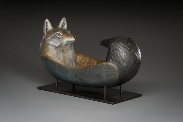"""""""Raven Coyote Spirit Canoe"""""""