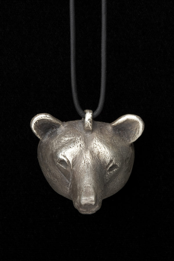 """Bear Mask Pendant"""