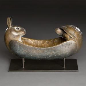"""""""Tortoise and Hare Spirit Canoe"""""""