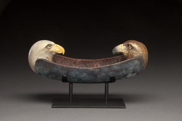 """""""Two Eagles Spirit Canoe"""""""