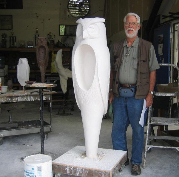 Hib Sabin w Plasters Great Eagle Owl