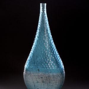 """""""Blue Battuto Jar"""""""