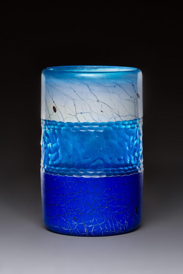 """Lapis Blue Cylinder"""