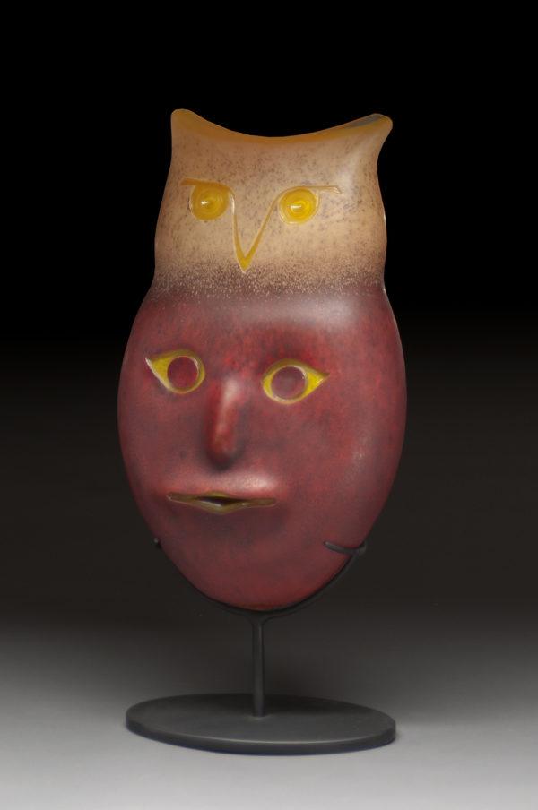 """Owl Spirit Mask"""