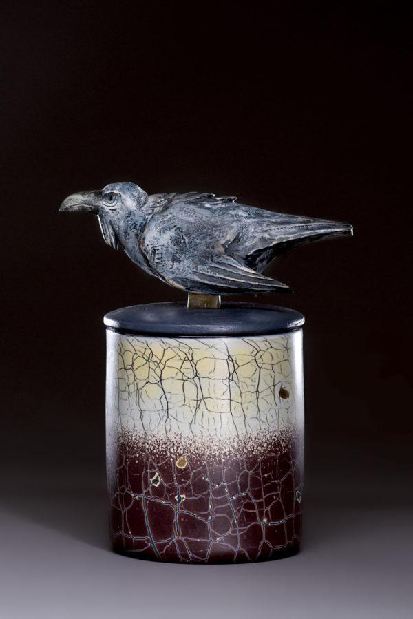"""""""Raven Spirit Jar"""""""