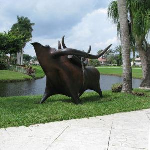 """Rhyton Bull Monument"" 1 of 5"