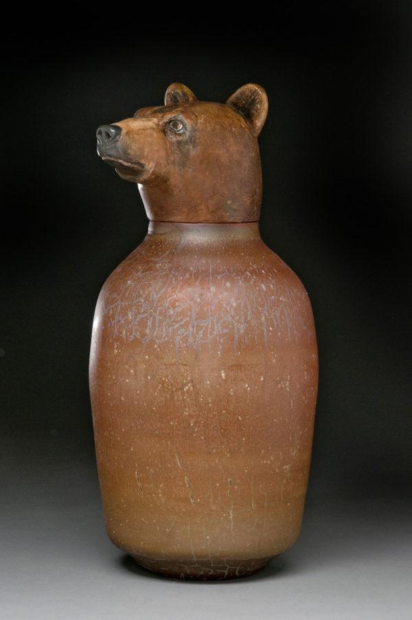 """""""Brown Bear Spirit Jar"""""""