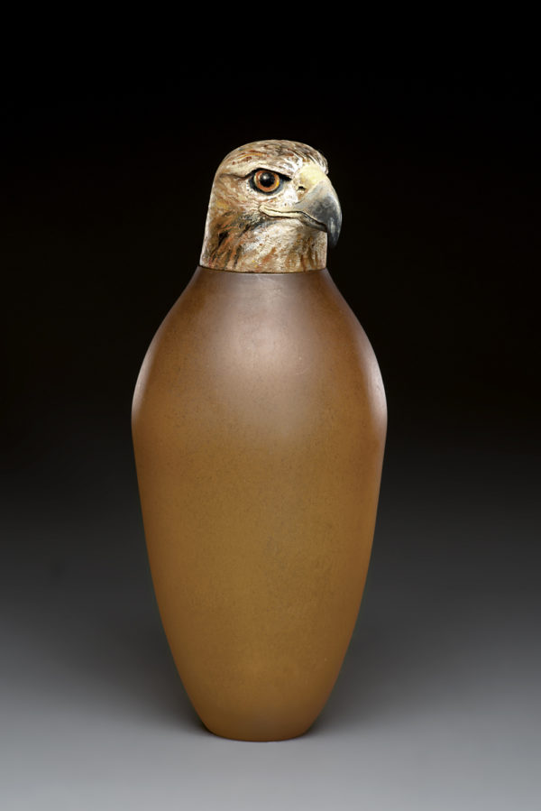 """Raptor Spirit Jar"""