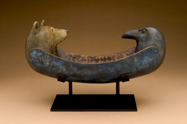 """""""Raven Bear Spirit Canoe"""""""