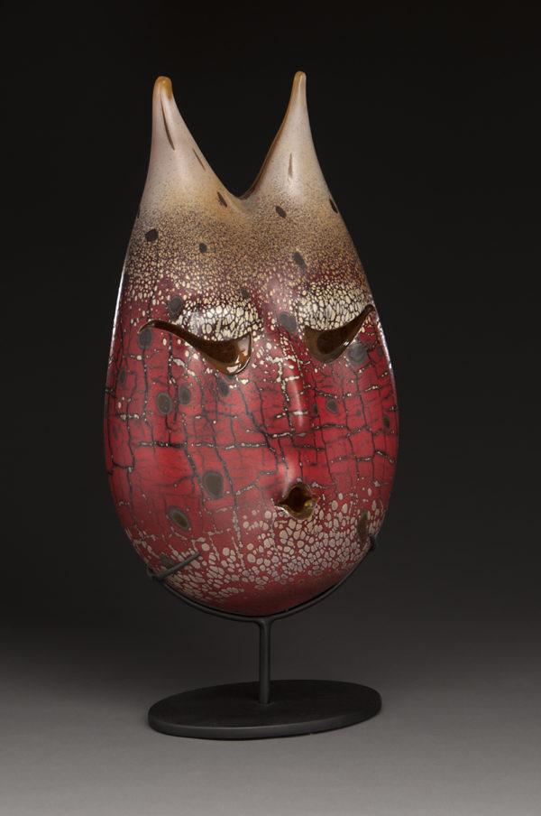 """Red Ocher Mask"""