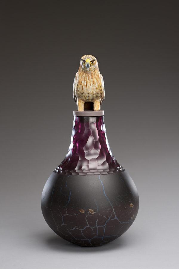 """Hawk Spirit Jar"""